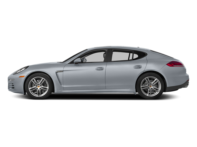 Rhodium Silver Metallic 2014 Porsche Panamera Pictures Panamera Hatchback 4D S AWD V8 Turbo photos side view