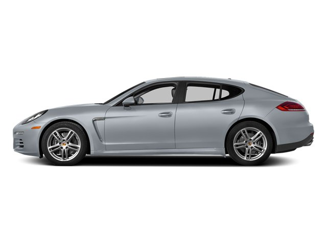 Rhodium Silver Metallic 2014 Porsche Panamera Pictures Panamera Hatchback 4D 4S V6 Turbo photos side view