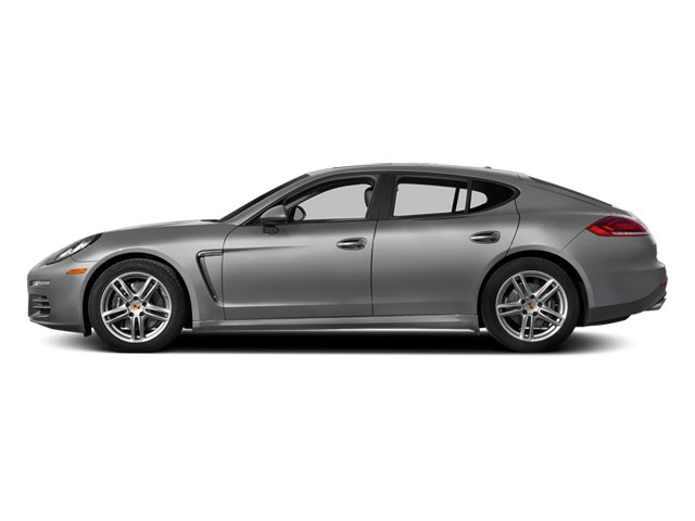 GT Silver Metallic 2014 Porsche Panamera Pictures Panamera Hatchback 4D S AWD V8 Turbo photos side view