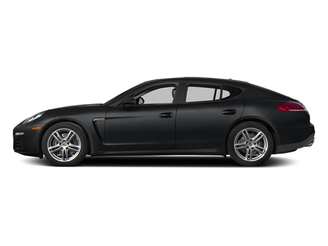 Basalt Black Metallic 2014 Porsche Panamera Pictures Panamera Hatchback 4D S V6 Turbo photos side view