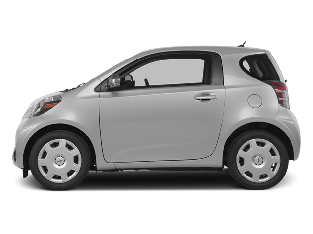 Classic Silver Metallic 2014 Scion iQ Pictures iQ Hatchback 3D I4 photos side view