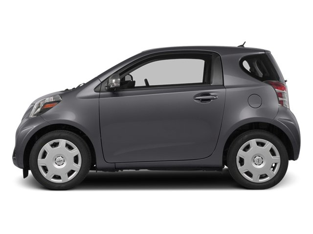 Magnetic Gray Metallic 2014 Scion iQ Pictures iQ Hatchback 3D I4 photos side view