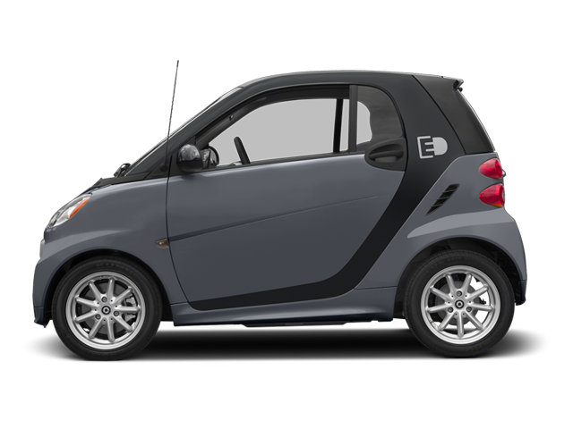 Gray Matte 2014 smart fortwo electric drive Pictures fortwo electric drive Coupe 2D Electric photos side view