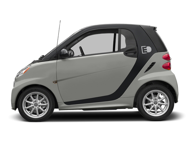 Gray Metallic 2014 smart fortwo electric drive Pictures fortwo electric drive Coupe 2D Electric photos side view
