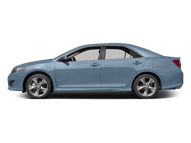 Clearwater Blue Metallic 2014 Toyota Camry Pictures Camry Sedan 4D LE I4 photos side view