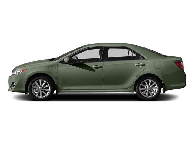 Cypress Pearl 2014 Toyota Camry Hybrid Pictures Camry Hybrid Sedan 4D LE I4 Hybrid photos side view
