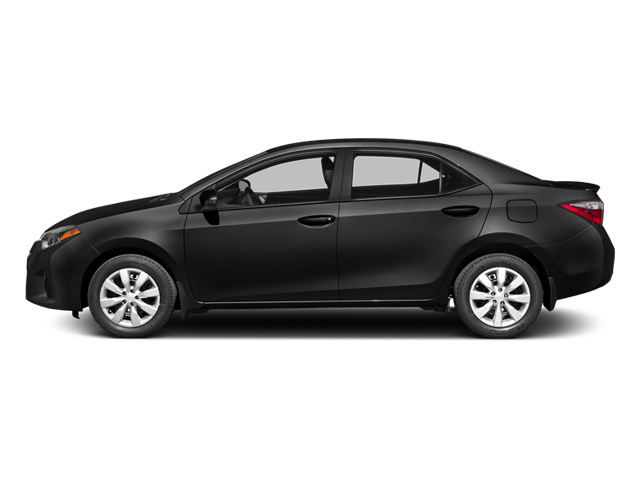 Black Sand Mica 2014 Toyota Corolla Pictures Corolla Sedan 4D S I4 photos side view