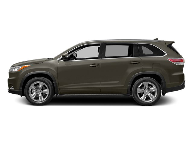 Predawn Gray Mica 2014 Toyota Highlander Pictures Highlander Utility 4D Limited 4WD V6 photos side view