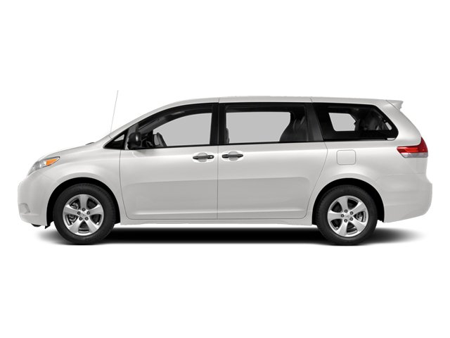 Super White 2014 Toyota Sienna Pictures Sienna Wagon 5D LE AWD V6 photos side view