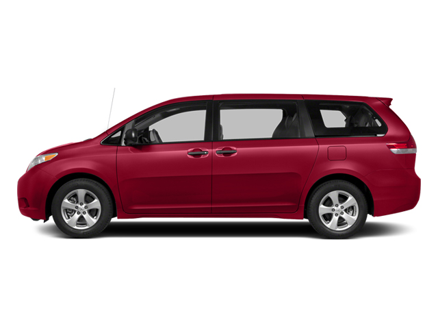 Salsa Red Pearl 2014 Toyota Sienna Pictures Sienna Wagon 5D LE AWD V6 photos side view