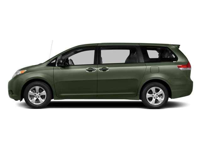 Cypress Pearl 2014 Toyota Sienna Pictures Sienna Wagon 5D LE AWD V6 photos side view