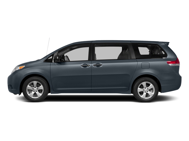 Shoreline Blue Pearl 2014 Toyota Sienna Pictures Sienna Wagon 5D LE AWD V6 photos side view