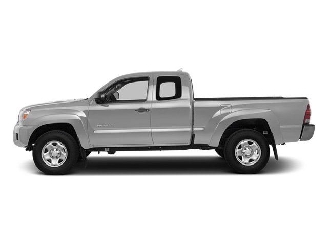 Silver Sky Metallic 2014 Toyota Tacoma Pictures Tacoma Base Access Cab 2WD I4 photos side view