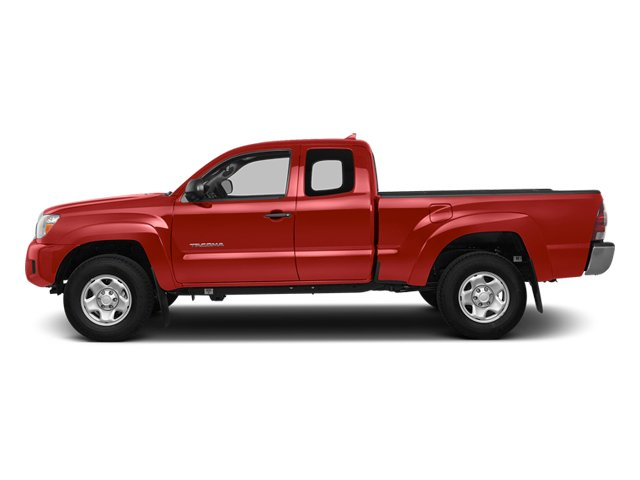Barcelona Red Metallic 2014 Toyota Tacoma Pictures Tacoma Base Access Cab 2WD I4 photos side view