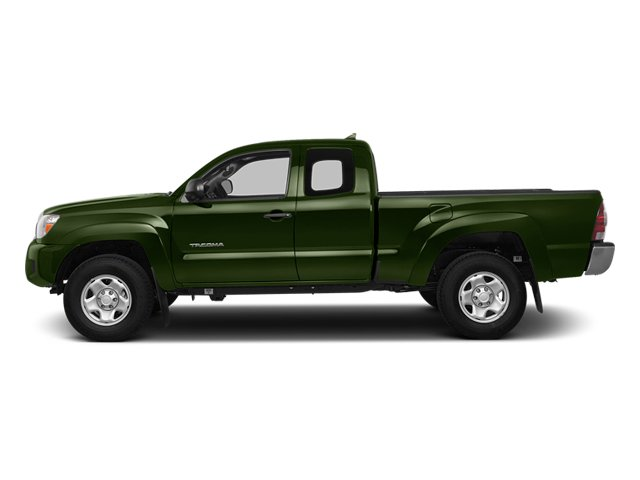 Spruce Mica 2014 Toyota Tacoma Pictures Tacoma Base Access Cab 2WD I4 photos side view