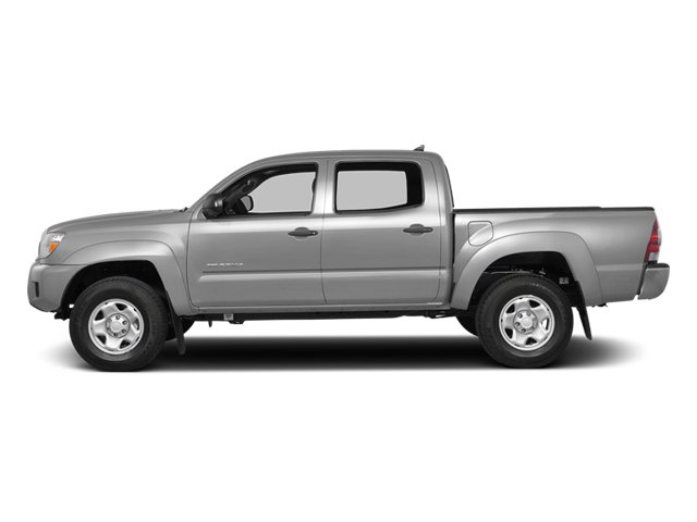 Silver Sky Metallic 2014 Toyota Tacoma Pictures Tacoma Base 4WD V6 photos side view
