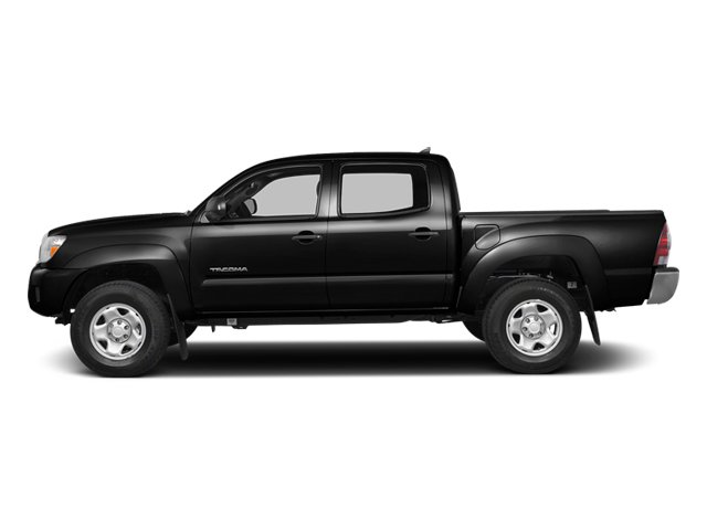 Black 2014 Toyota Tacoma Pictures Tacoma Base 4WD V6 photos side view
