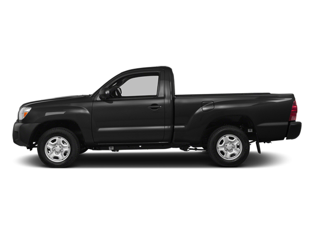 Black 2014 Toyota Tacoma Pictures Tacoma Base 4WD I4 photos side view