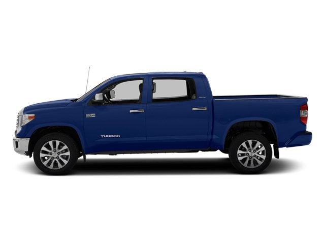 Blue Ribbon Metallic 2014 Toyota Tundra 4WD Truck Pictures Tundra 4WD Truck Limited 4WD 5.7L V8 photos side view