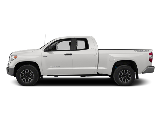 Super White 2014 Toyota Tundra 4WD Truck Pictures Tundra 4WD Truck Limited 4WD 5.7L V8 photos side view