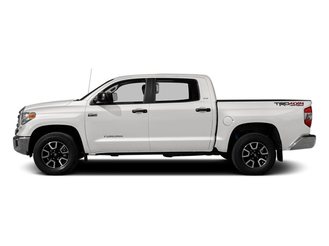 Super White 2014 Toyota Tundra 4WD Truck Pictures Tundra 4WD Truck SR5 4WD 5.7L V8 photos side view