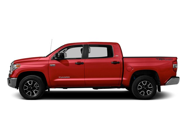 Radiant Red 2014 Toyota Tundra 4WD Truck Pictures Tundra 4WD Truck SR5 4WD 5.7L V8 photos side view