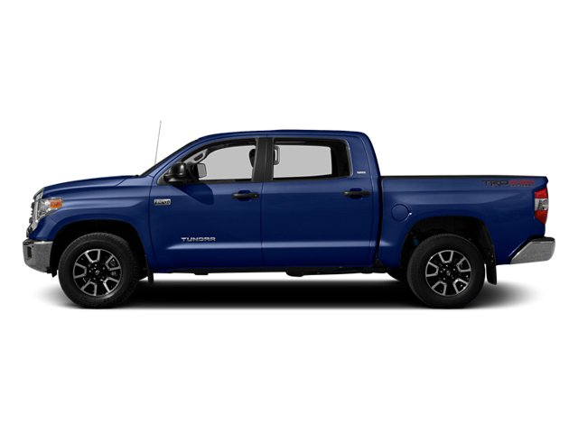 Blue Ribbon Metallic 2014 Toyota Tundra 4WD Truck Pictures Tundra 4WD Truck SR5 4WD 5.7L V8 photos side view