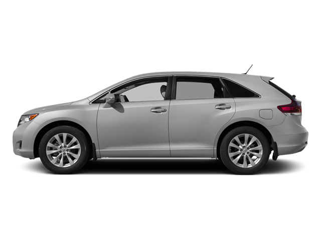 Classic Silver Metallic 2014 Toyota Venza Pictures Venza Wagon 4D LE 2WD I4 photos side view