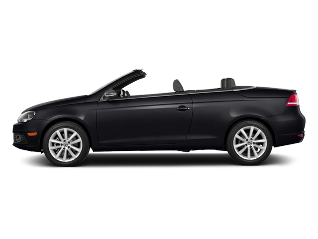 Deep Black Pearl 2014 Volkswagen Eos Pictures Eos Convertible 2D Executive I4 Turbo photos side view