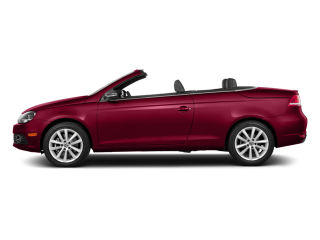 Salsa Red 2014 Volkswagen Eos Pictures Eos Convertible 2D Executive I4 Turbo photos side view