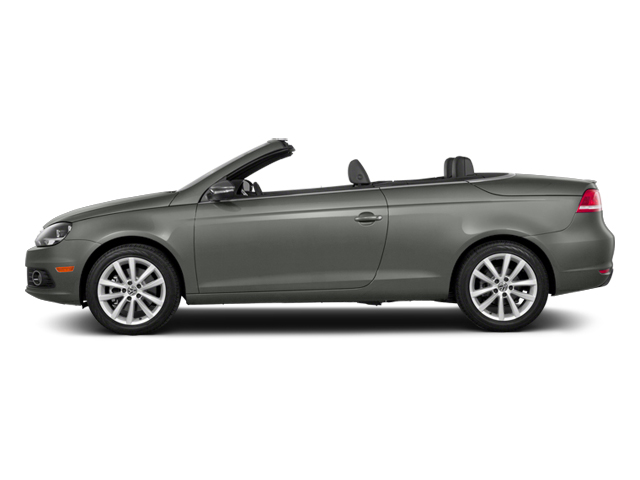 Reflex Silver Metallic 2014 Volkswagen Eos Pictures Eos Convertible 2D Executive I4 Turbo photos side view