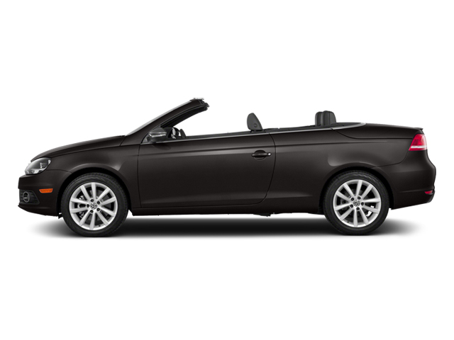 Black Oak Brown Metallic 2014 Volkswagen Eos Pictures Eos Convertible 2D Executive I4 Turbo photos side view