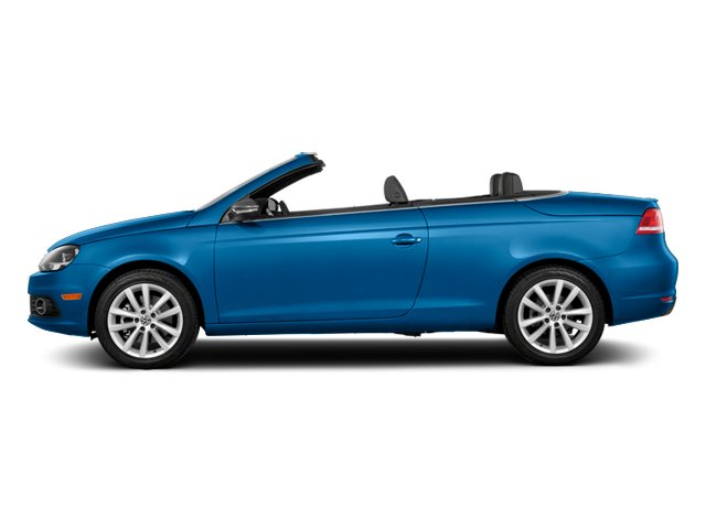 Horizon Blue Metallic 2014 Volkswagen Eos Pictures Eos Convertible 2D Executive I4 Turbo photos side view