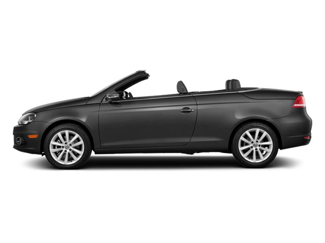 Indium Gray Metallic 2014 Volkswagen Eos Pictures Eos Convertible 2D Executive I4 Turbo photos side view