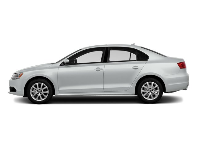 Pure White 2014 Volkswagen Jetta Sedan Pictures Jetta Sedan 4D TDI I4 photos side view