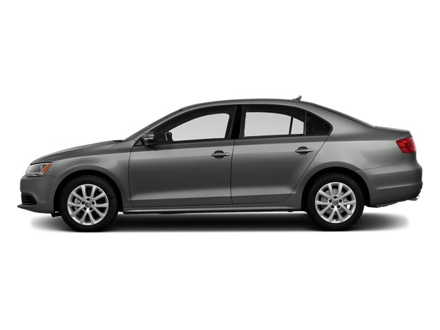 Platinum Gray Metallic 2014 Volkswagen Jetta Sedan Pictures Jetta Sedan 4D TDI I4 photos side view