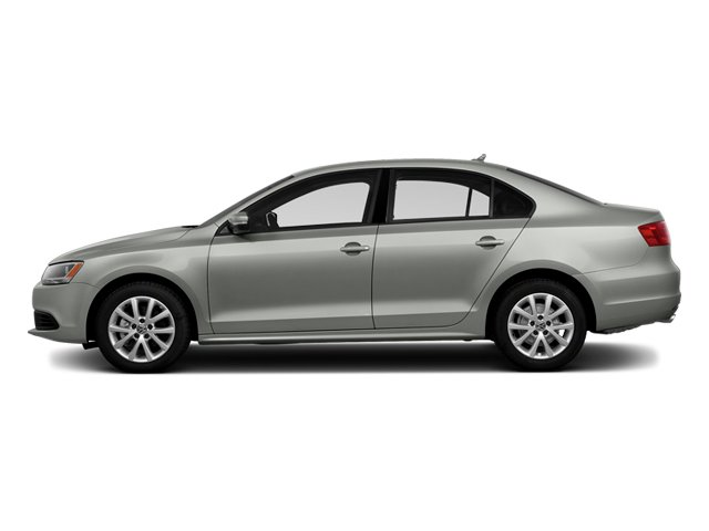 Reflex Silver Metallic 2014 Volkswagen Jetta Sedan Pictures Jetta Sedan 4D TDI I4 photos side view