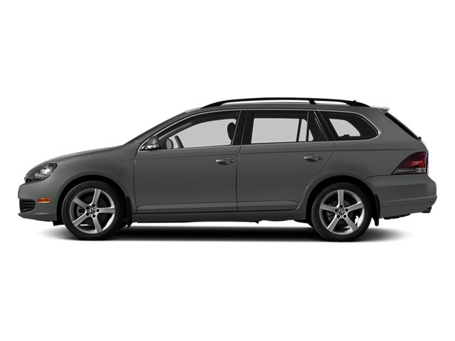 Platinum Gray Metallic 2014 Volkswagen Jetta SportWagen Pictures Jetta SportWagen Wagon 4D SE I5 photos side view