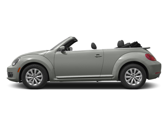 Reflex Silver Metallic/Black Roof 2014 Volkswagen Beetle Convertible Pictures Beetle Convertible Convertible 2D TDI I4 photos side view