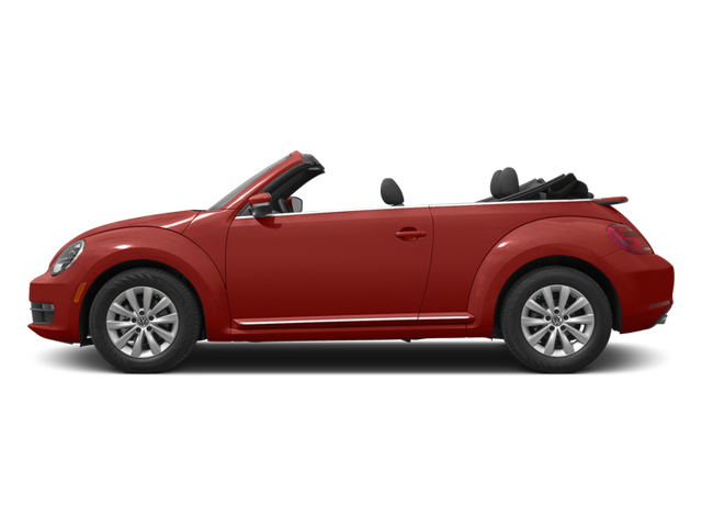 Tornado Red/Black Roof 2014 Volkswagen Beetle Convertible Pictures Beetle Convertible Convertible 2D TDI I4 photos side view