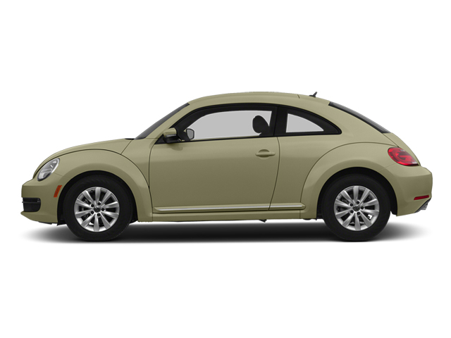 Moonrock Silver Metallic 2014 Volkswagen Beetle Coupe Pictures Beetle Coupe 2D 1.8T I4 Turbo photos side view