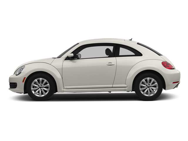 Pure White 2014 Volkswagen Beetle Coupe Pictures Beetle Coupe 2D 2.5 Entry I5 photos side view