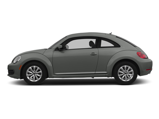 Platinum Gray Metallic 2014 Volkswagen Beetle Coupe Pictures Beetle Coupe 2D 2.5 Entry I5 photos side view