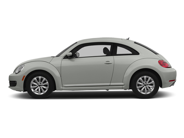 Reflex Silver Metallic 2014 Volkswagen Beetle Coupe Pictures Beetle Coupe 2D 2.5 Entry I5 photos side view