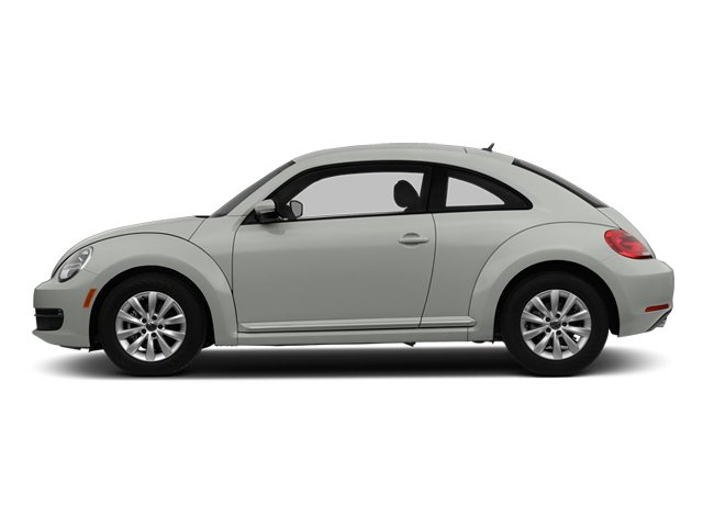 Reflex Silver Metallic 2014 Volkswagen Beetle Coupe Pictures Beetle Coupe 2D 1.8T I4 Turbo photos side view