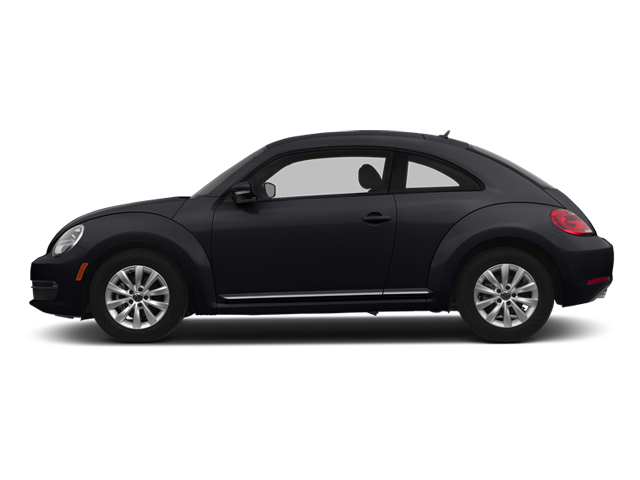 Black Uni 2014 Volkswagen Beetle Coupe Pictures Beetle Coupe 2D 2.5 Entry I5 photos side view