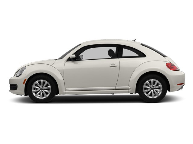 Candy White 2014 Volkswagen Beetle Coupe Pictures Beetle Coupe 2D 2.5 Entry I5 photos side view