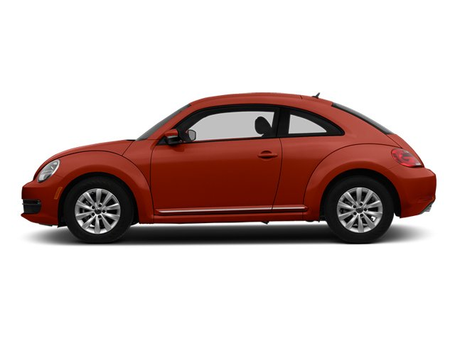 Tornado Red 2014 Volkswagen Beetle Coupe Pictures Beetle Coupe 2D 2.5 Entry I5 photos side view