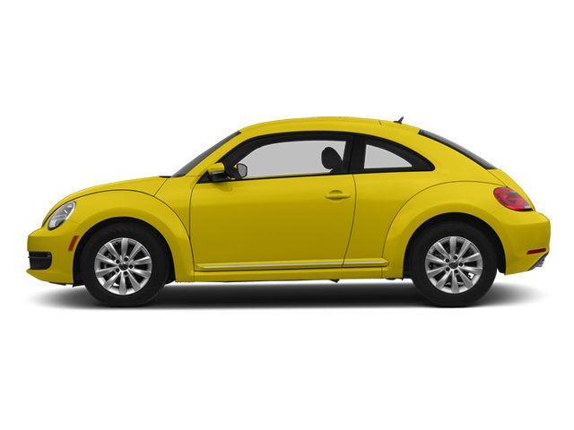 Yellow Rush 2014 Volkswagen Beetle Coupe Pictures Beetle Coupe 2D 1.8T I4 Turbo photos side view