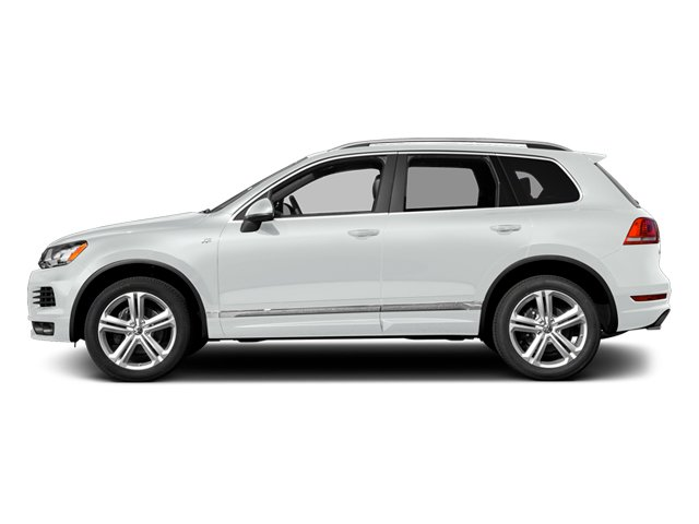 Pure White 2014 Volkswagen Touareg Pictures Touareg Util 4D TDI R-Line AWD V8 T-Diesel photos side view